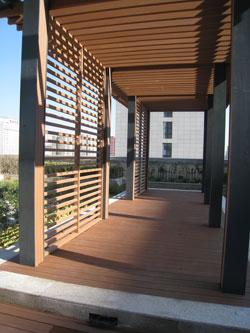 钢结构园林廊架
