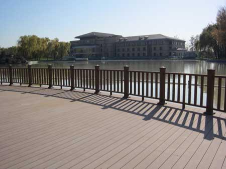北京木塑_奥运木塑品质_塑木地板_百爱木塑工程业绩